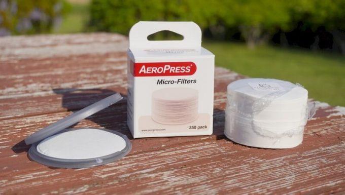 エアロプレスゴー(AeroPressGo)の専用フィルター