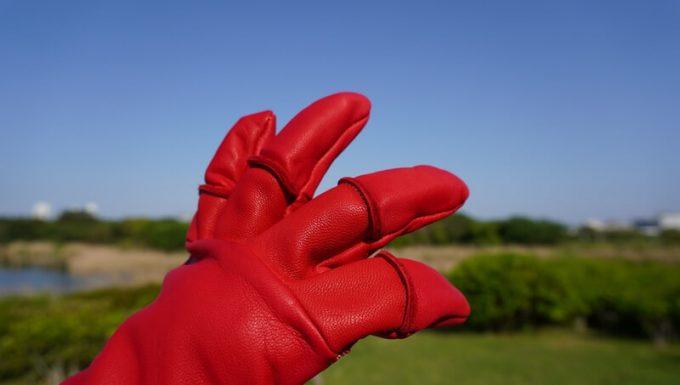 アウトドア手袋 Elmer Joyの関節