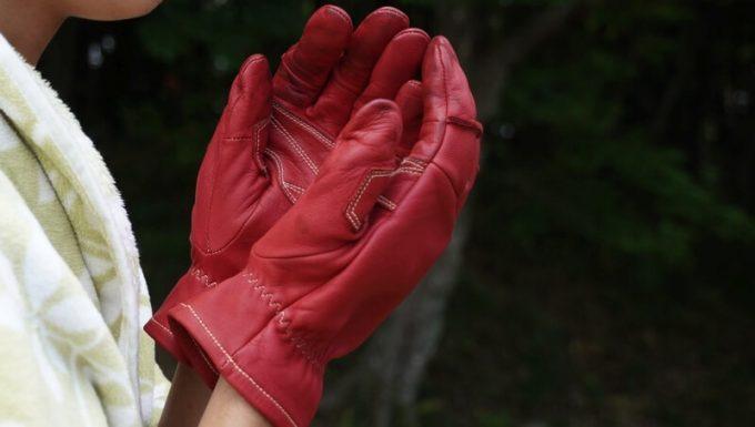 アウトドア手袋 Elmer Joy 防寒グローブとして使える