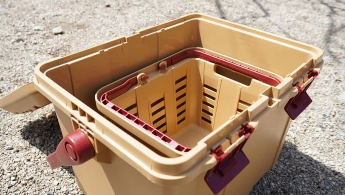 リングスター スタークアール バスケット ミニはボックスの中に入る 高さ