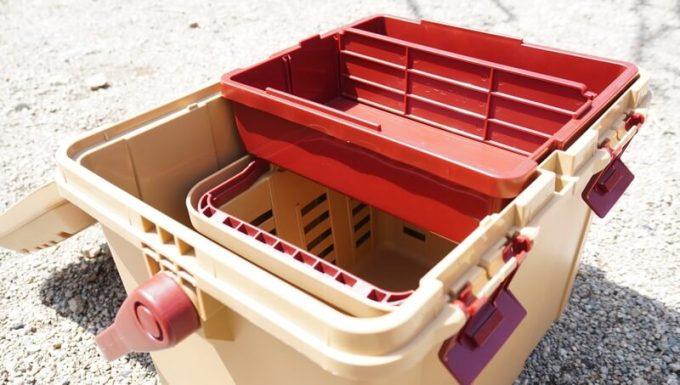 リングスター スタークアール バスケット ミニはボックスの中に入る 小物入れも入る