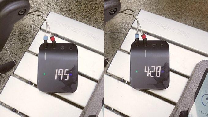 Weber Connect スマートグリルハブで温度計を切り替え
