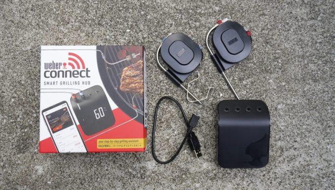 Weber Connect スマートグリルハブの付属品
