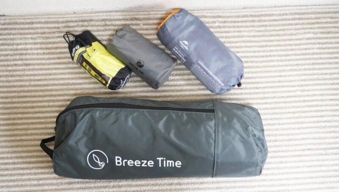 ブリーズタイム Breeze Time コットとエアマットを比較
