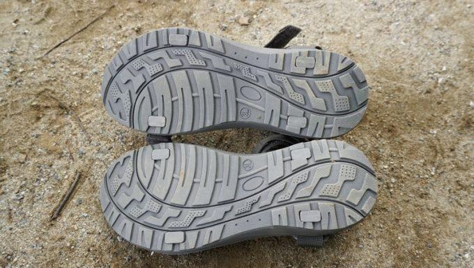 menueサンダルの靴底[