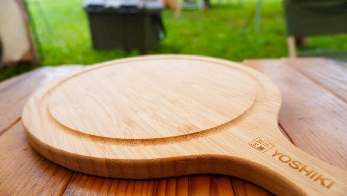 YOSHIKI 良木工房 竹製ピザボード