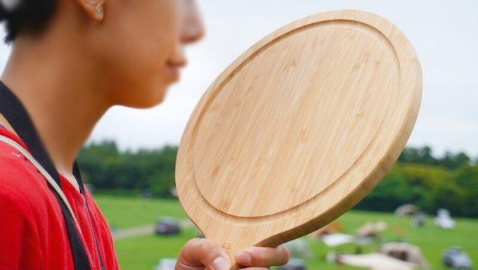 YOSHIKI 良木工房 竹製ピザボードの匂い