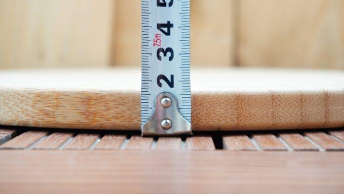 YOSHIKI 良木工房 竹製 ピザボードの厚さ