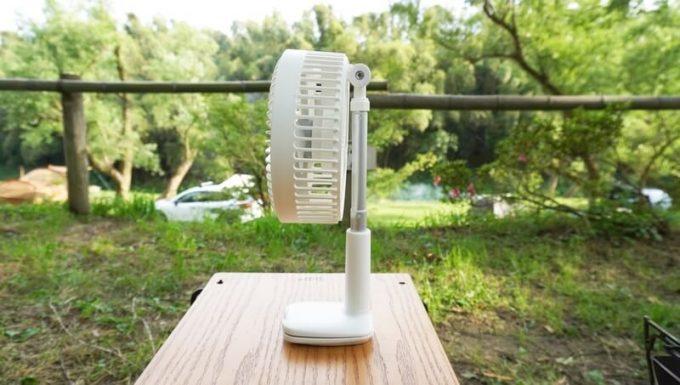 リスカイ扇風機は自立する