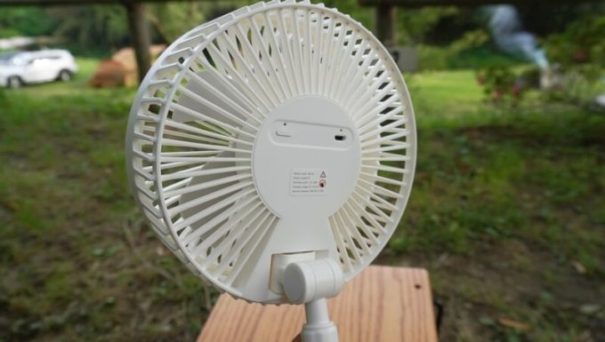 リスカイ扇風機のスイッチ