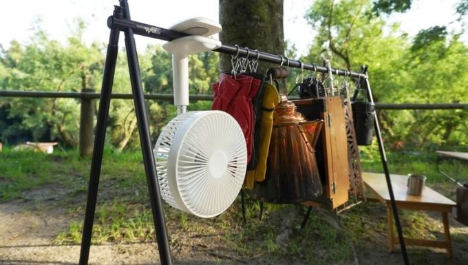 リスカイ扇風機を吊るす