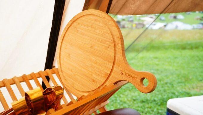 YOSHIKI 良木工房 竹製ピザボードを洗う