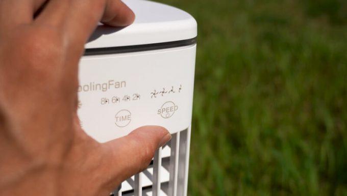 CoolingFan冷風扇の風力調整