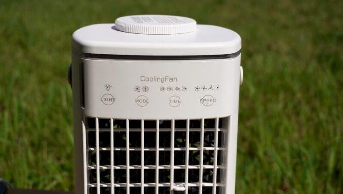CoolingFan冷風扇の操作ポタン