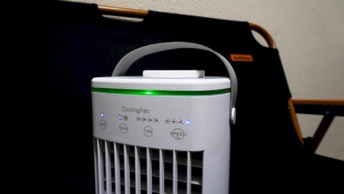 CoolingFan冷風扇のLEDライト