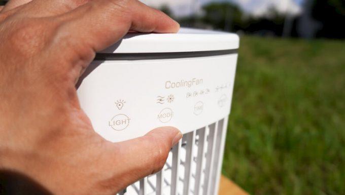CoolingFan冷風扇のミストON-OFF
