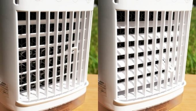 CoolingFan冷風扇の送風角度調整