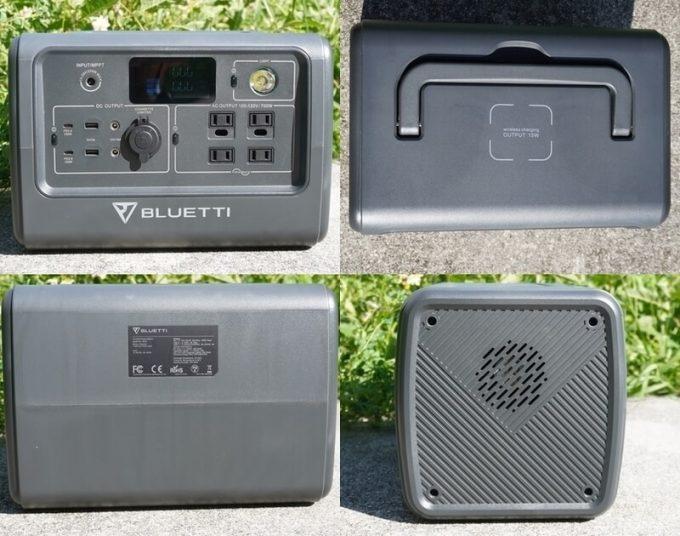 BLUETTIポータブル電源EB70の詳細