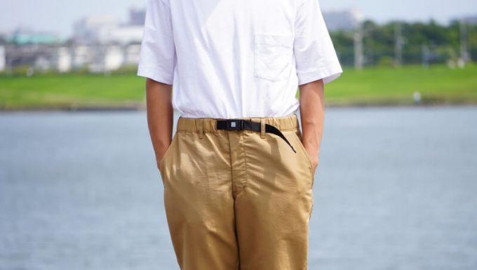 ナコタ nakota ライトウエイトパンツ ロクヨンクロスの前ポケット