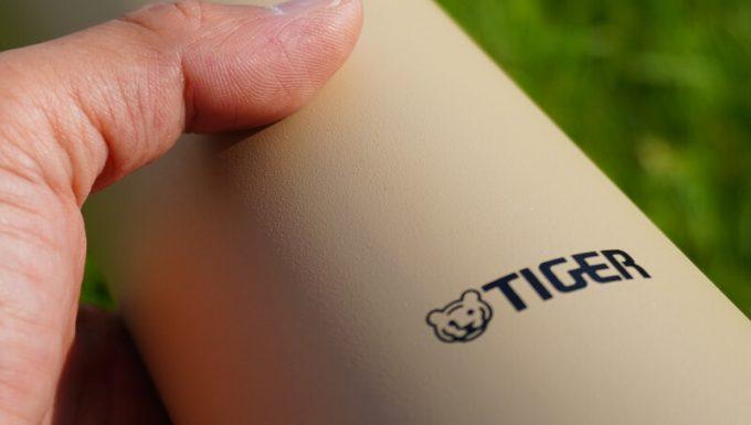 タイガーステンレスボトルの表面加工