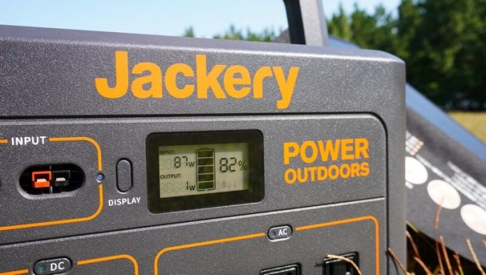 BALDRソーラーパネル120Wの発電力 秋晴れ