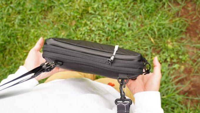 圧縮バッグ PackBagを圧縮