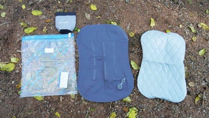 デルピコ(DELLEPICO)キャンプ枕の付属品