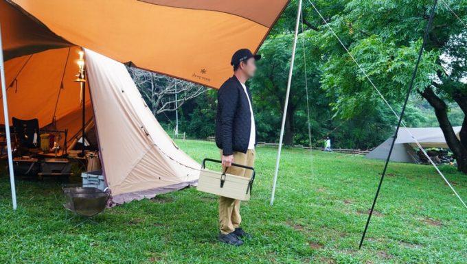 Stark-R スチールボックス トリケラトプスをキャンプで持つ