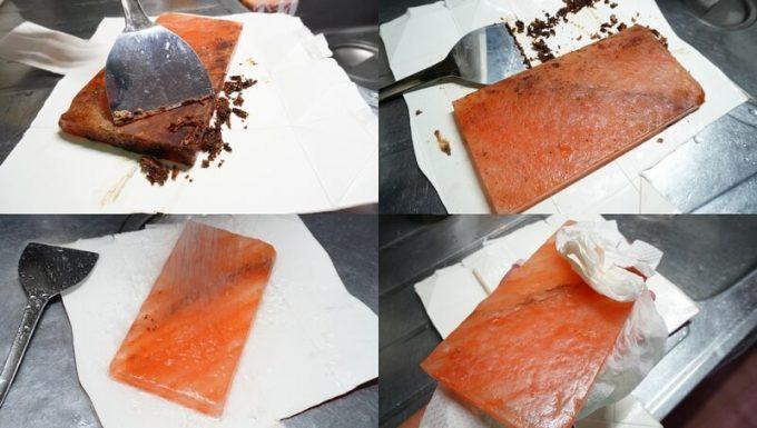梅研本舗 ヒマラヤ岩塩プレートの洗い方