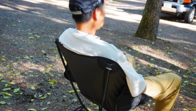 360度回転 JOYVACK SABUROKU CHAIRは肩甲骨まで支えてくれる