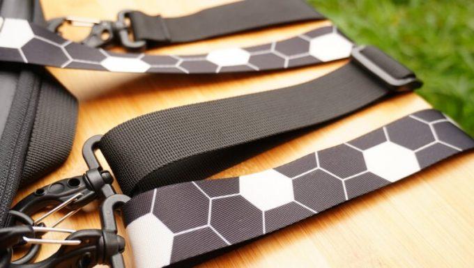 圧縮バッグ PackBagの肩紐ベルト