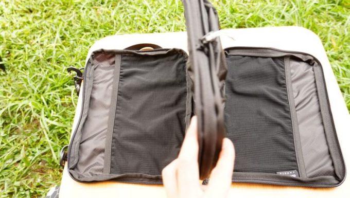 圧縮バッグ PackBag 2つの部屋