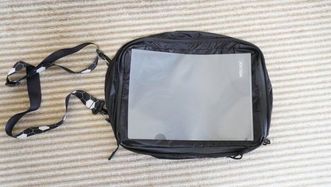圧縮バッグ PackBag LサイズはA4ファイルが入る