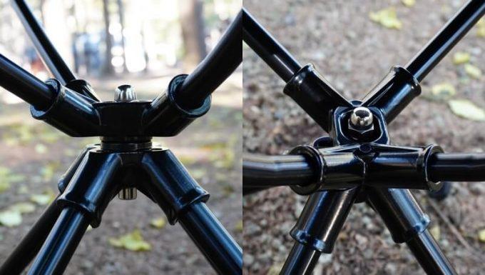 360度回転 JOYVACK SABUROKU CHAIRの回転部品 詳細
