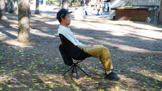 360度回転 JOYVACK SABUROKU CHAIRの座り心地
