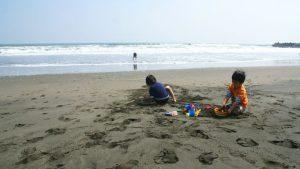 19営 春の陽気に誘われて♪ キャンプして、勢い余って海遊び