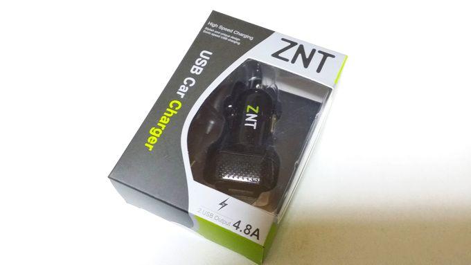 ZNT カー チャージャー 商品